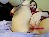 Chubby girl masturbation with lovense in pussy <!-- width=