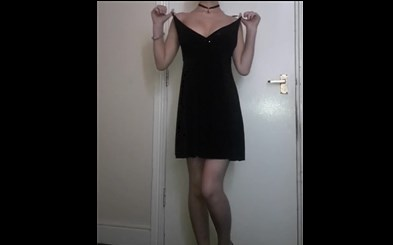 Young girl undressing <!-- width=