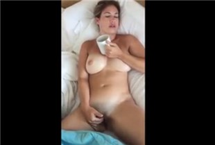 Busty wife masturbation <!-- width=