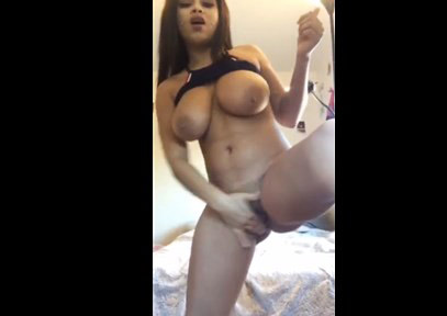 Hot masturbation on Periscope