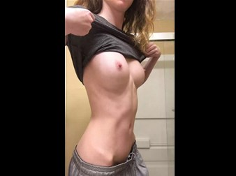 Reddit girl just_for_you_95 shows her firm tits <!-- width=