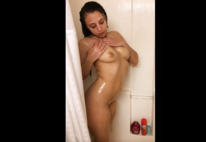 18yo girl and her shower time  <!-- width=