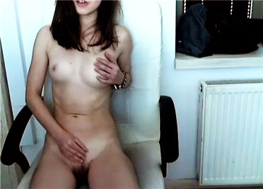 Young girl hot striptease