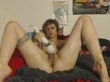 Stoner Girl Solo Session W/ Hitachi &amp; Ben Wa Balls <!-- width=