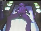 Masturbation in Solarium