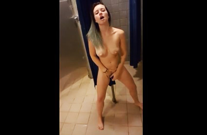 Young Lesbian girls take a shower and masturbate