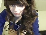 Cute Teen Show on Webcam <!-- width=