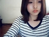 Korean girl on web cam <!-- width=