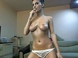 Gorgeous cam girl two hours teasing