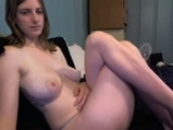 Naked busty girl on cam with friend <!-- width=