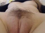 Sexy hairy pussy!