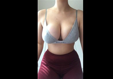 Great breasts bouncing <!-- width=