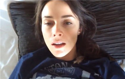 Sexy actress Abigail Spencer selfshot masturbation