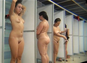 Hidden camera in the women's showers
