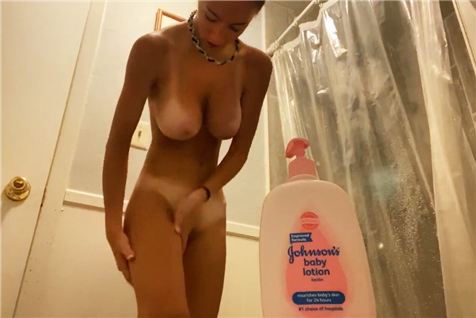 Hidden camera from the women's locker room fitness club